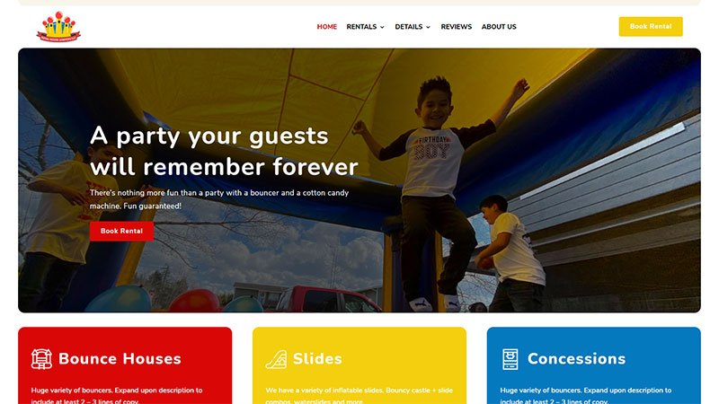 Book Your Bounce House Rental Online