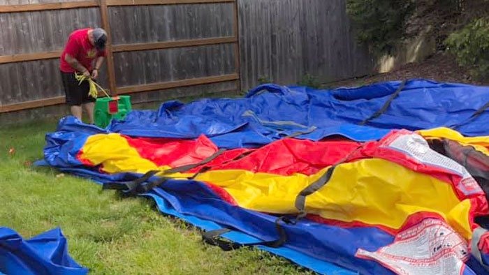 Bounce House Delivery and Take Down Bellingham