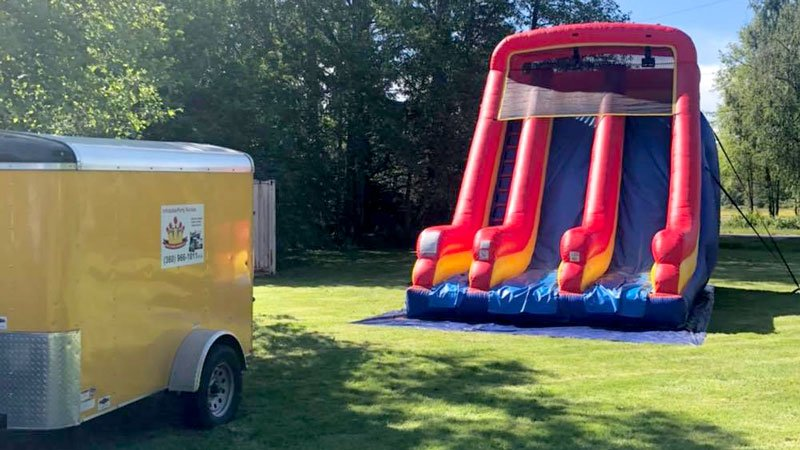 Bouncy Castle Rental and Delivery Bellingham